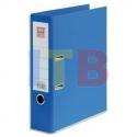 classeur à levier en polypropylène dos de 8cm bleu roy/bleu clair