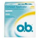 Tampons compact avec applicateur normal Bte/16