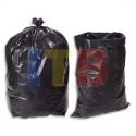 Poubelles boîte de 100 sacs poubelle 130 litres noir très résistant 75 microns